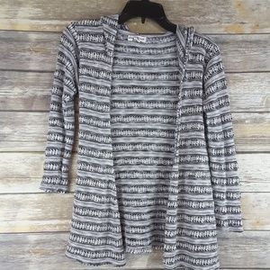 Altar'd State open hooded cardigan sweater XS